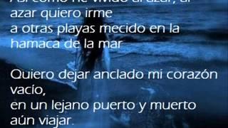 Los Embajadores Criollos - (El pirata) Al azar quiero irme con Letra