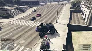 Monster Truck vs Super Car
