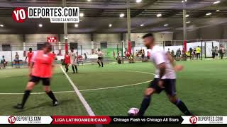 Chicago Flash vs. Chicago All Stars Final Miercoles Coed Liga Latinoamericana