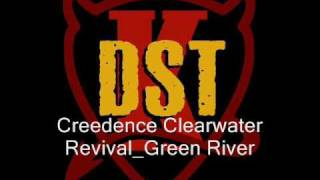 KDST Creedence Clearwater Revival Green River