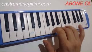 Melodika Öğreniyorum--Duvardaki Resim Cengiz Kurtoğlu