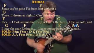 Every Breath You Take (The Police) Mandolin Cover Lesson with Chords/Lyrics