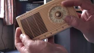 Dynatron TP14 transistor radio pt2 final and interval signal from?.