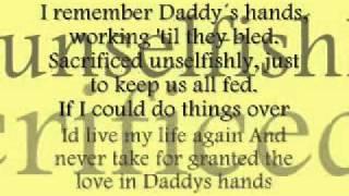 Holly Dunn Daddy's Hands Lyrics