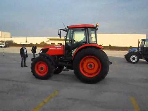 Kubota Traktörleri Hidrolik Levye Testi.wmv
