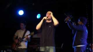 Maverick Sabre - Shooting The Stars - Live The Arches Glasgow 01.03.2012