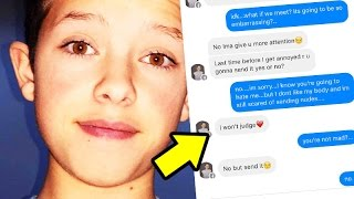 13yr. old Vine/YouTuber Asks Fan for Nudes? - Jacob Sartorius