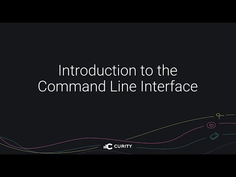 Introduction to the Command Line Interface (CLI)