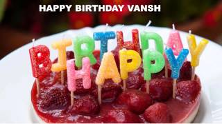 Vansh  Cakes Pasteles - Happy Birthday