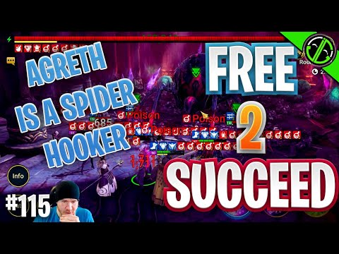 Can We Beat Agreth Today?? Also 3v3 Arena Tilts TF Out Of Me | Free 2 Succeed - EPISODE 115