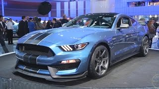 2016 Ford Mustang Shelby GT350R - 2015 Detroit Auto Show