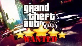 GTA V- Fastest way to a 5 star (wanted level)