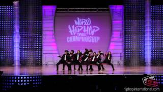 Japanese Kids Dance Team at World Championship