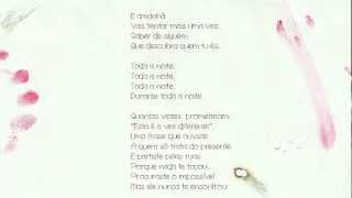 Pedro Abrunhosa - 'Durante toda a Noite'. Álbum 'Longe' - Vídeo Letra | Video lyrics