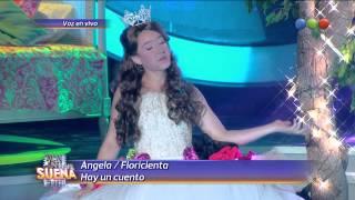Angela es Floricienta, Hay un cuento - Tu Cara me Suena 2014