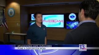 Aplicaciones ante huracanes disponibles