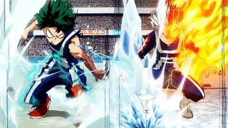 Boku no Hero Academia Season 2「AMV」- Midoriya vs Todoroki Full Fight