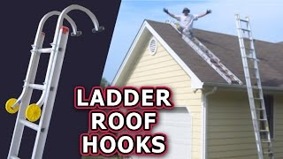 How to lift ladder platform by yourself to working position