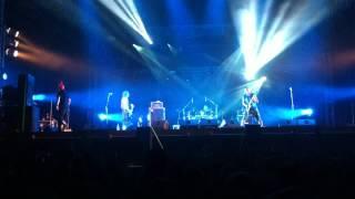 The Exploited beat the bastard Cieszanow rock fesival 2012