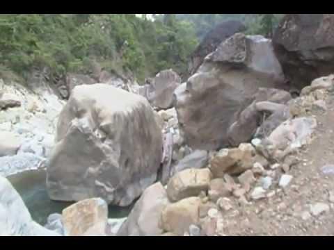 Big and beautiful rocks near Arunkhola Nawalparsi, Nepal