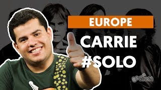 Videoaula Carrie (How to Play - Guitar Solo Lesson)