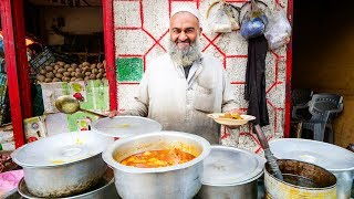 Street Food in Gilgit + PAKISTANI VILLAGE FOOD | Ultra Happiness in Gilgit-Baltistan, Pakistan! width=