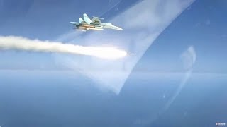 RAW: Russian supersonic missile destroys ships in Caspian Sea during drills (MoD footage)