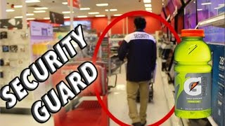 Water Bottle Flip Target Edition *Kicked Out* | Dude Perfect