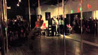 Male Pole Dancer does Magic Mike Inspired Dance in Six Inch Heels
