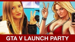 Is iJustine the GTA V Girl? & More from Midnight Launch  | DweebCast | OraTV