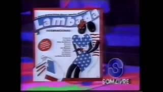 Comercial do LP 'Lambada internacional' (1990)