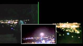 Jerusalem UFO 2011! - Witness Video 4 Syncronized