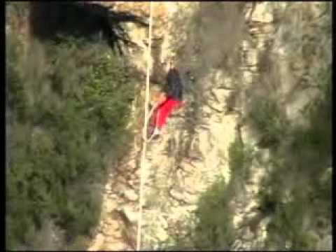 Bloukrans Bridge Bungy Jump (First Jump)