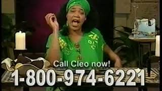 Psychic Readers Network ad w/Miss Cleo, 2000