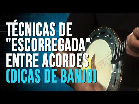 Técnicas de escorregada entre acordes (dicas de banjo)