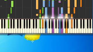 Karen Young   Nobody's Child [Synthesia Piano] [Piano Tutorial Synthesia]