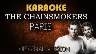 The Chainsmokers - Paris (Karaoke Version Higher)