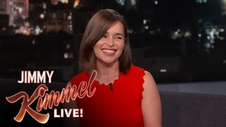 Emilia Clarke Can Talk Like a Valley Girl