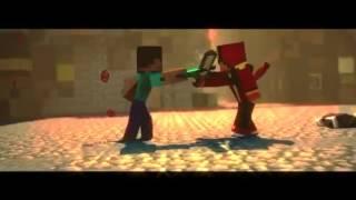 Minecraft intro no text!