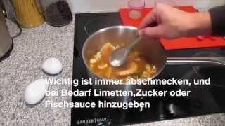 Rezept für thailändische Tom Yum Gong Suppe, Thai Style Shrimp Soup