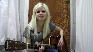 Let's Start A Band - Amy MacDonald Acoustic Cover (Abbie Quine)