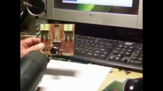 Плата управления для аппарата контактной сварки