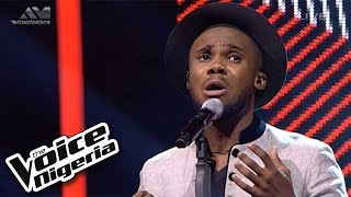 "Dewe' sings ""It's A Man's Man's World"" / Live Show / The Voice Nigeria 2016"