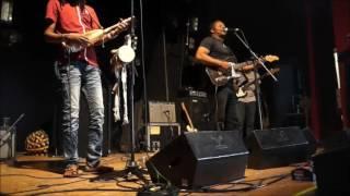 Samba Touré - Al Barka - Soundcheck Livorno  The Cage Theatre 29/05/2016