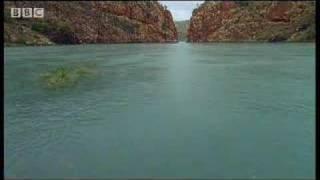 Great natural wonders - tidal waves at Talbot Bay, Australia - David Attenborough - BBC