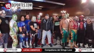 Lucha de homenaje a Gringo Loco en Eagles Club de Berwyn