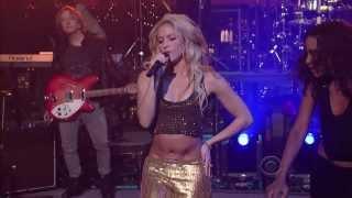 Shakira - Loca (Live Late Show With David Letterman 23/09/10)