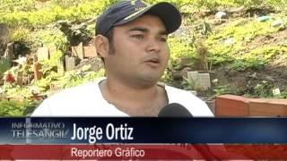 Reportero gráfico denuncia contaminación en el rÍo Fonce