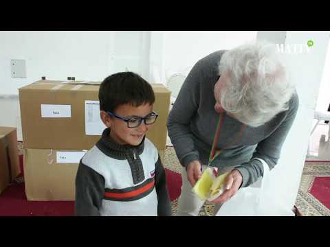 Raid international de solidarité : Distribution de dons en faveur des enfants de Taza et Taourirt