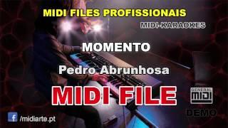 ♬ Midi file  - MOMENTO - Pedro Abrunhosa